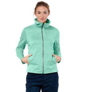 Jack Wolfskin Fleecejacke Frauen Oceanside Jacket Women XL pale mint