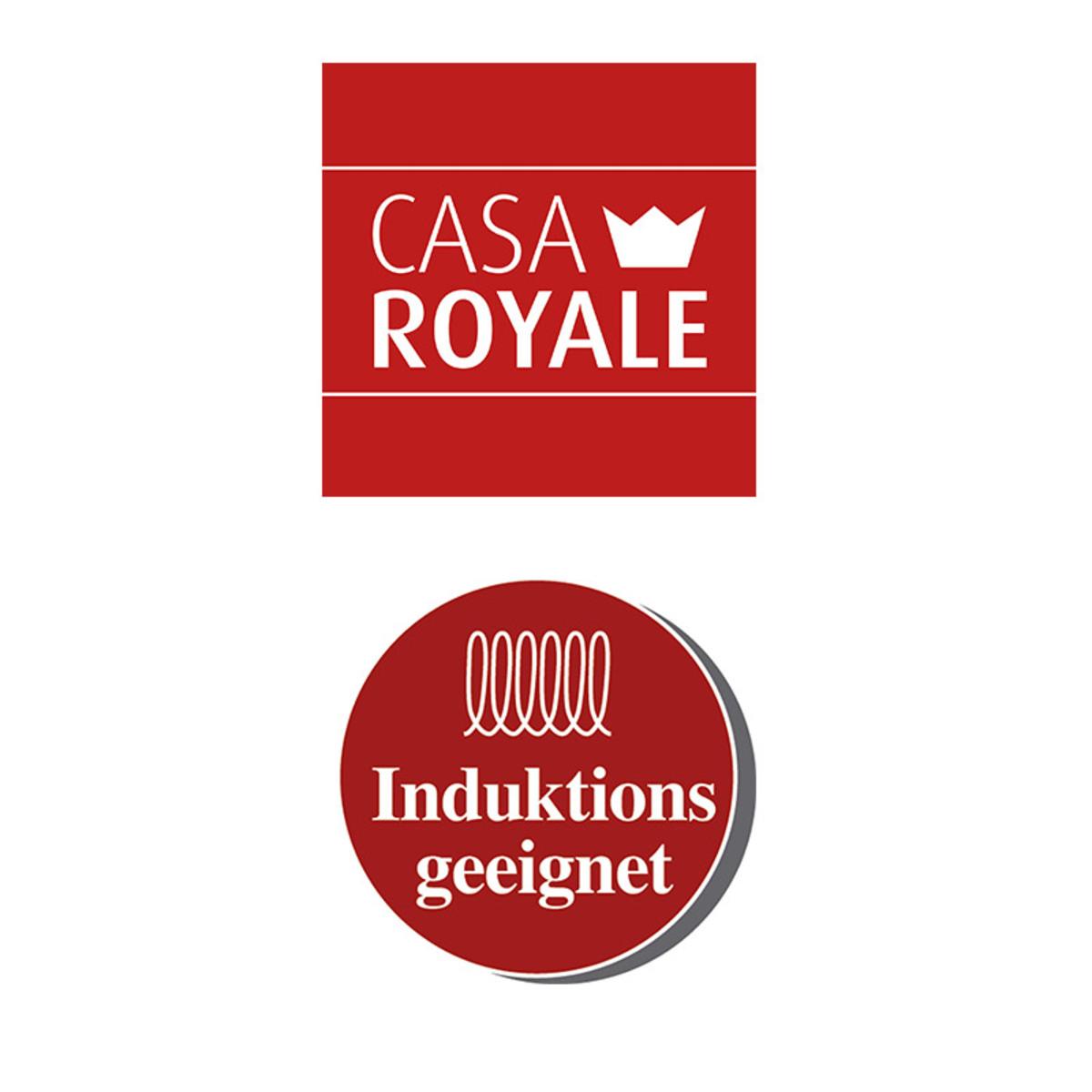 Bild 3 von Casa Royale Gusseisen-Bräter ca. 7 Liter - rot
