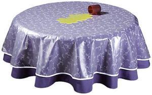 Grasekamp Tischdeckenschoner PVC Folie 100x130cm Oval