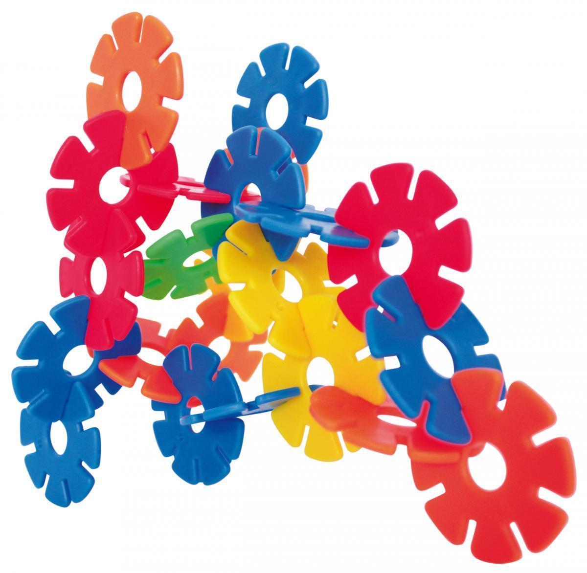 Bild 2 von Coemo Steckblumen Stecksteine im tragbaren Eimer 400 Teile