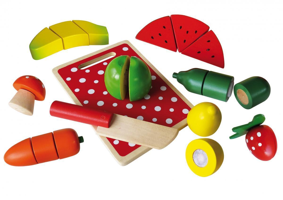Bild 1 von Coemo Schneideobst und Gemüse aus Holz