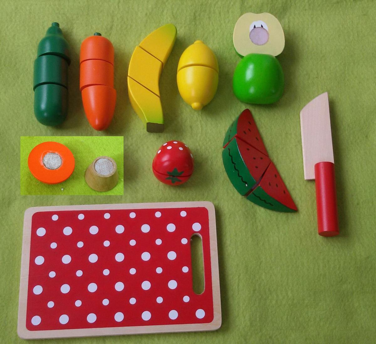 Bild 2 von Coemo Schneideobst und Gemüse aus Holz