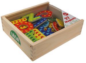 LENA® Holz Magnet Buchstaben