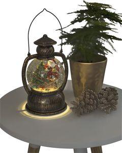 """Konstsmide         LED Kugellaterne """"Weihnachtsmann"""", wassergefüllt,warm weiß,b"""