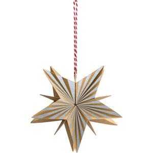 IDEENWELT 6er Set 3D-Naturpapier-Sterne