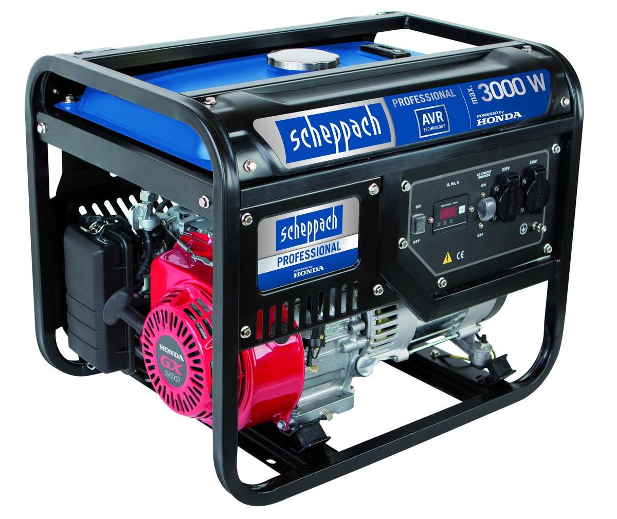Bild 1 von Scheppach Honda Stromerzeuger SG3500 3000 W