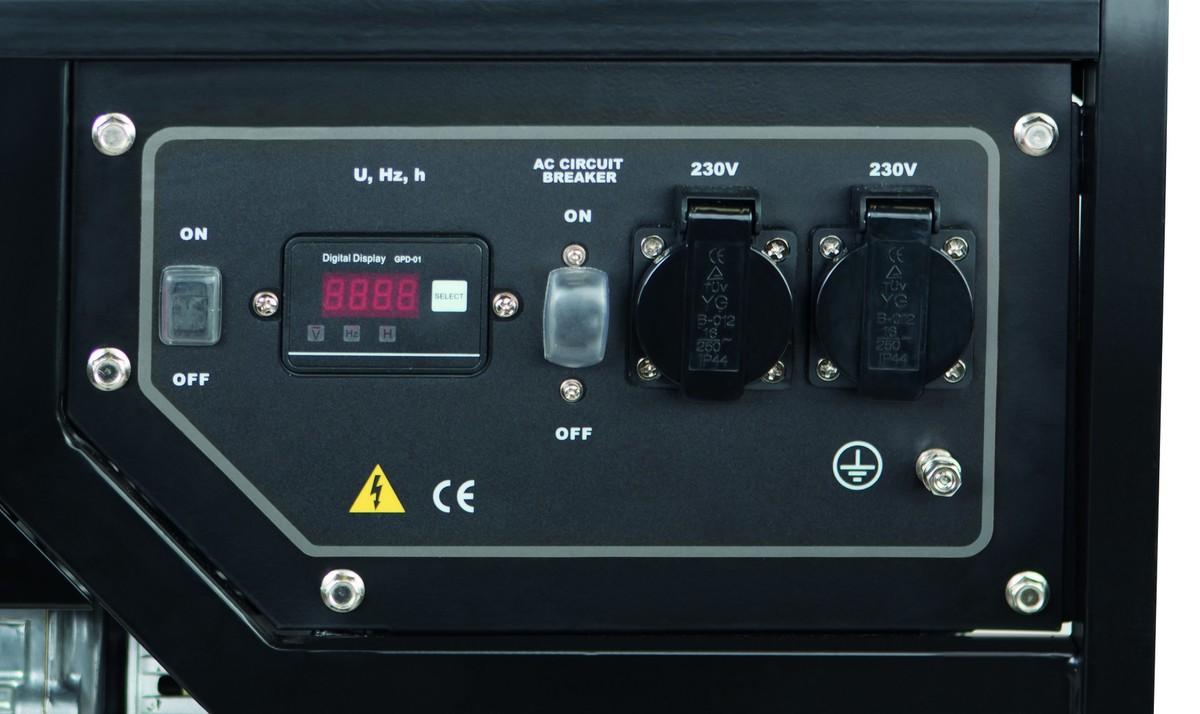 Bild 2 von Scheppach Honda Stromerzeuger SG3500 3000 W
