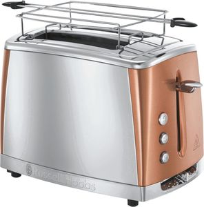 Russell Hobbs         Luna Copper Accents Toaster                     Kupfer-Silber
