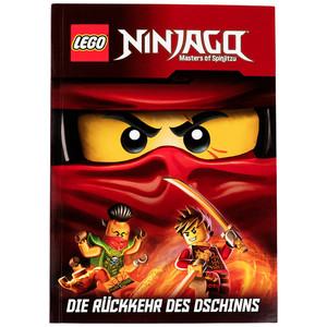 """LEGO Ninjago Buch """"Die Rückkehr des Dschinns"""""""