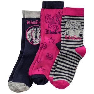 3 Paar Bibi & Tina Socken im Set