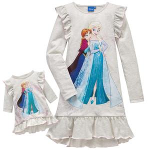 Die Eiskönigin Nachthemd und Puppennachthemd
