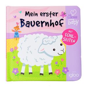 """Baby Fühlbuch """"Mein erster Bauernhof"""""""