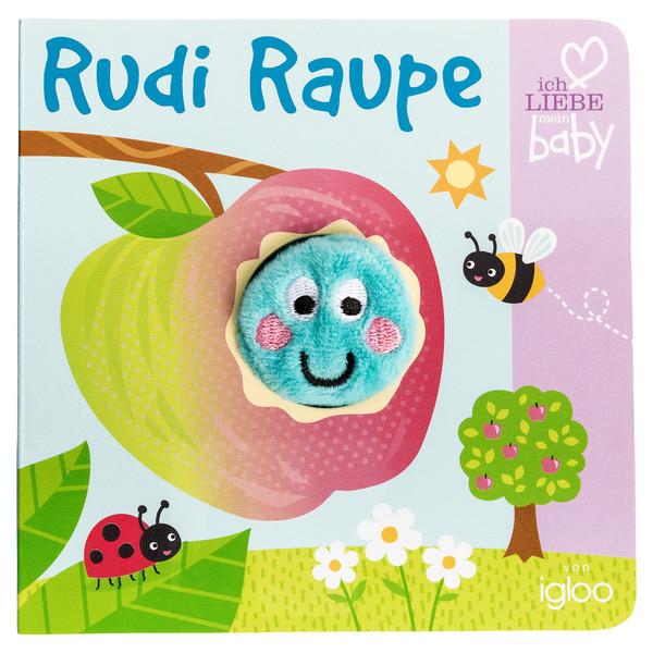 Baby Fingerpuppenbuch mit Schnecke