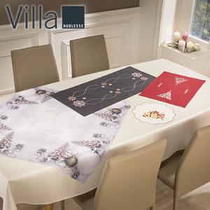 Weihnachts-Zierdecke mit hochwertiger Stickerei oder Fotodruck, versch. Größen und Dessins, ab
