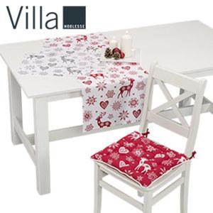 Stuhlkissen 40 x 40 cm Tischläufer 100 % Baumwolle, 45 x 150 cm oder Platz-Sets 2er-Pack, 100 % Baumwolle, 35 x 45 cm, je
