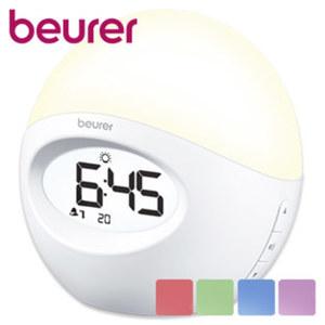Lichtwecker WL 32 · finales Wecken mit Radio oder Weckton · 2 Alarmzeiten einstellbar · Schlummer-Funktion · Batteriebetrieb (Batterien exklusive)