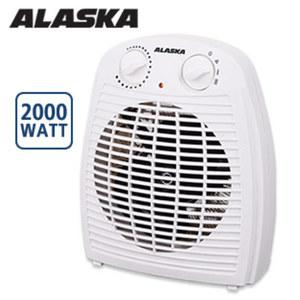 Heizlüfter FH 2001 N • stufenlos einstellbarer Thermostat • 2 Leistungsstufen • Überhitzungsschutz