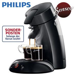 Kaffee-Padautomat HD 6553/62 Original • für 1 - 2 Tassen/Becher • abnehmbare Teile spülmaschinengeeignet