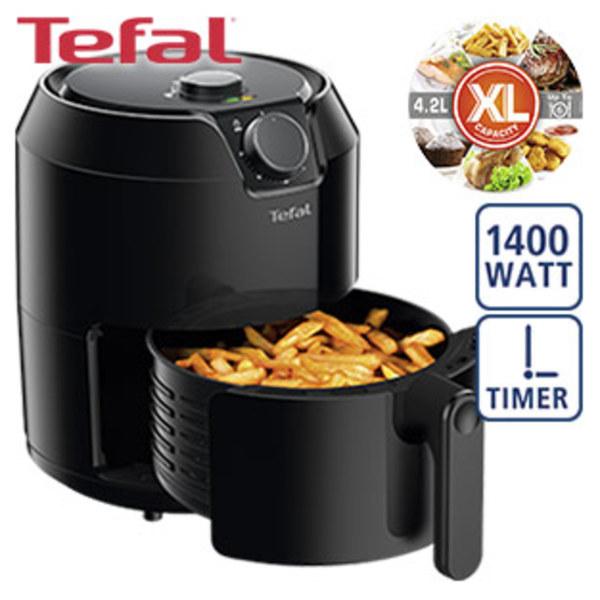 Heißluft-Fritteuse Easy Fry Classic • XL-Kapazität: 4,2 Liter = 1,2 kg • Mahlzeiten für bis zu 6 Personen zubereitbar