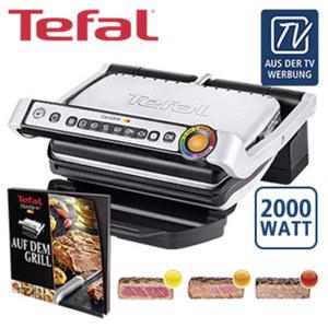 Kontaktgrill Optigrill GC702D • 6 voreingestellte Grillprogramme • Auftau-Funktion • autom. Anpassung der Grilltemperatur • antihaftbeschichtete Grillplatten sind spülmaschinengeeignet • G