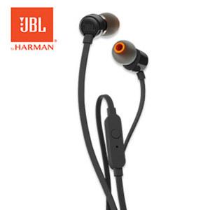 In-Ear-Kopfhörer T110 • Headset-Funktion, Pure-Bass-Sound • 3, 5-mm-Klinkenstecker • 1,2 m Flachband-Kabel