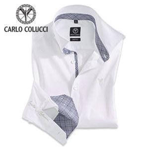 Herren- Cityhemd versch. Größen, Farbe Weiß oder Schwarz, je