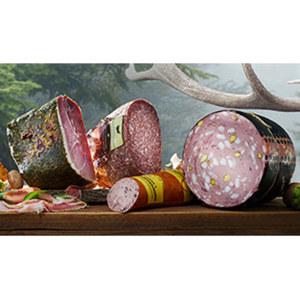 """Wildschwein-Salami """"Cuore Matto"""" luftgetrocknet, mindestens 3 Monate gereift, je 100 g"""