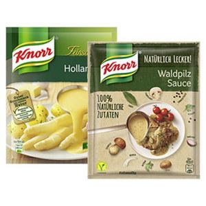 Knorr Feinschmecker Saucen oder Natürlich Lecker Sauce versch. Sorten, jeder Beutel