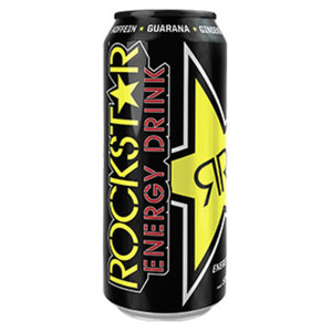 Rockstar Energy Drink* (*koffeinhaltig), versch. Sorten, jede 0,5-Liter-Dose