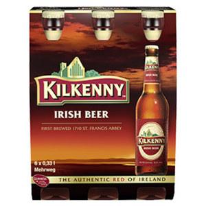 Kilkenny Irish Beer jede 6 x 0,33-Liter-Packung