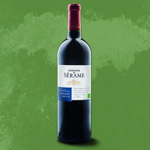 Frankreich Domaine de Serame Bio Merlot oder Chardonnay trocken, jede 0,75-Flasche