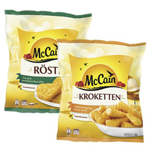 McCain Kroketten oder Rösti gefroren, jeder 1000-g-Beutel