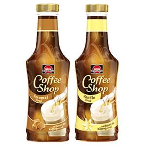 Schwartau Coffee Shop Sirup versch. Sorten, jede 200-ml-Flasche, nach Rabatt-Abzug beim Kauf von 5 Stück