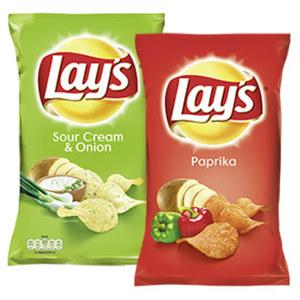Lay´s Chips versch. Sorten, jeder 175-g-Beutel