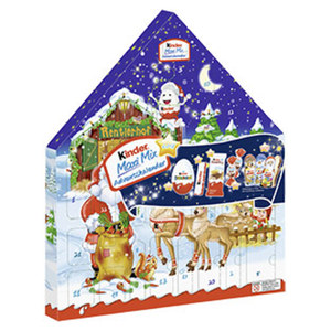 Kinder Maxi Mix Adventskalender jede 351-g-Packung
