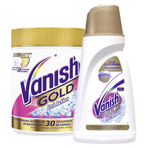 Vanish Gold Oxi Action 500 g/750ml/900 ml, versch. Sorten, jede Dose/Flasche