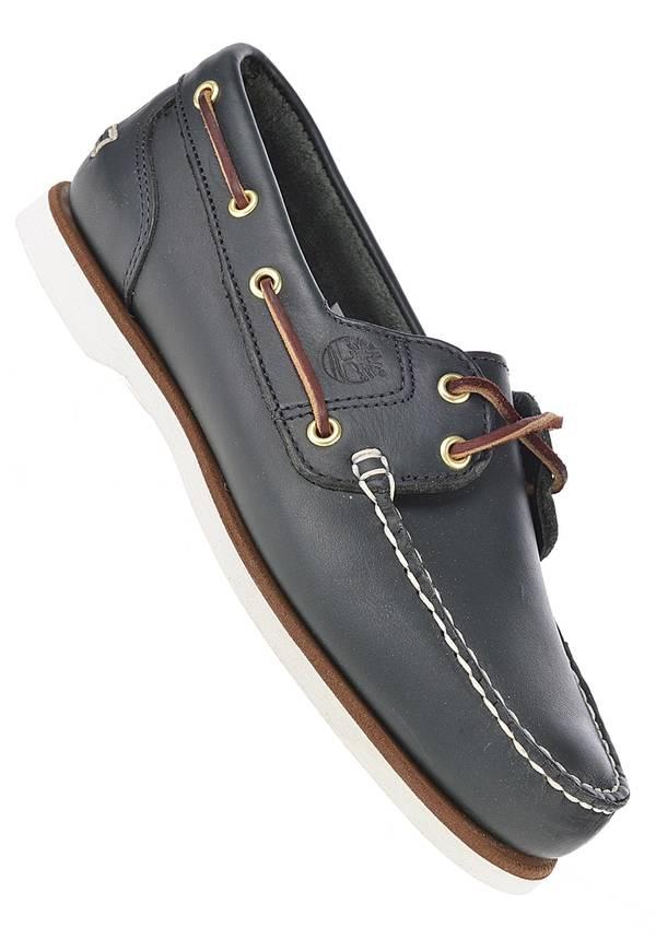 Timberland Classic Boat 2 Eye - Fashion Schuhe für Damen - Blau