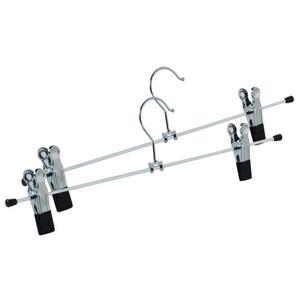 ProVida Klammerkleiderbügel 2 Stück 40 cm
