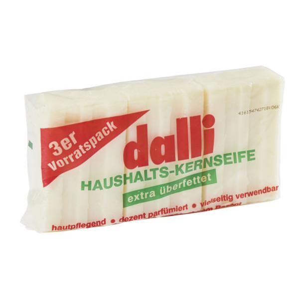 Dalli Haushalts-Kernseife 3 Stück je 100 Gramm