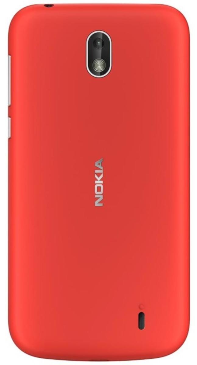 Bild 2 von Nokia 1 Dual-SIM blau, Farbe:Rot