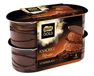 Nestle®  GOLD Knackige Mousse