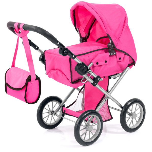 Puppenwagen City Star pink