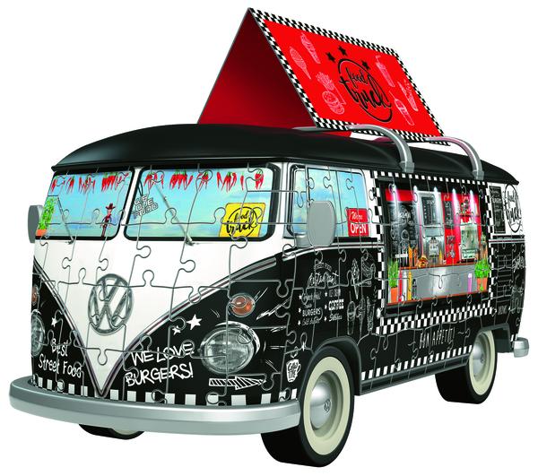 Ravensburger 12525 VW T1 Food Truck,3D Puzzle