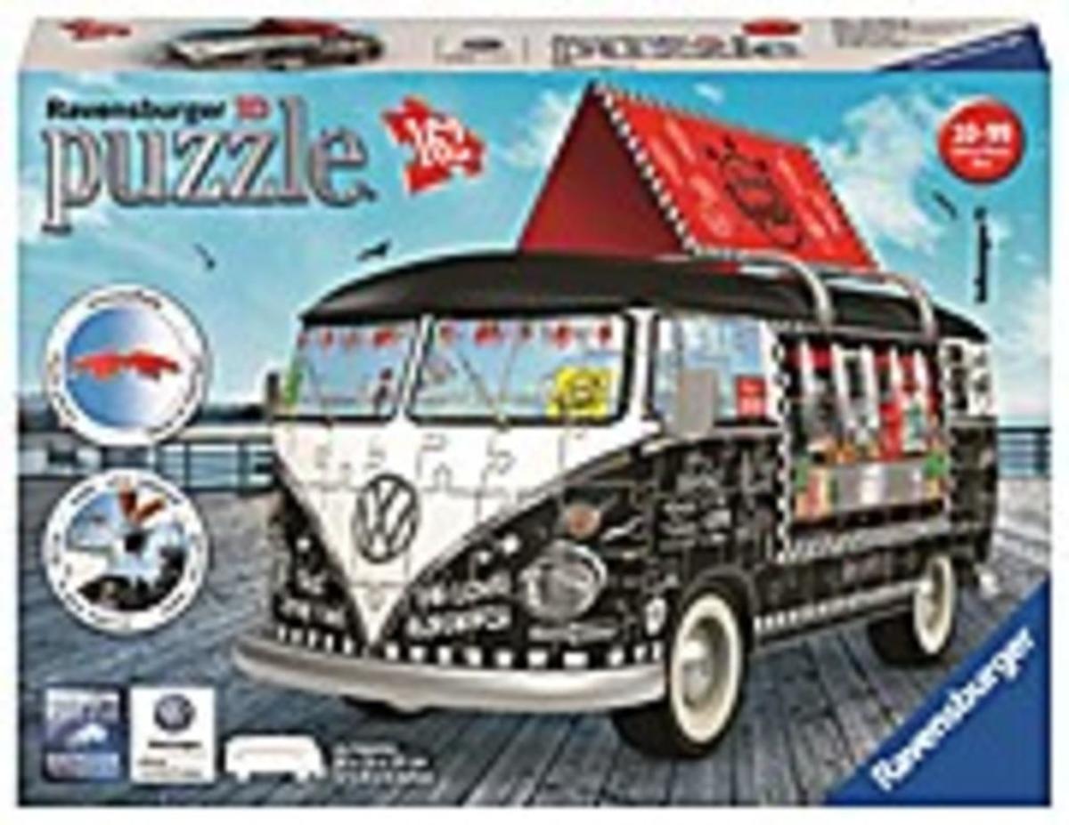 Bild 3 von Ravensburger 12525 VW T1 Food Truck,3D Puzzle