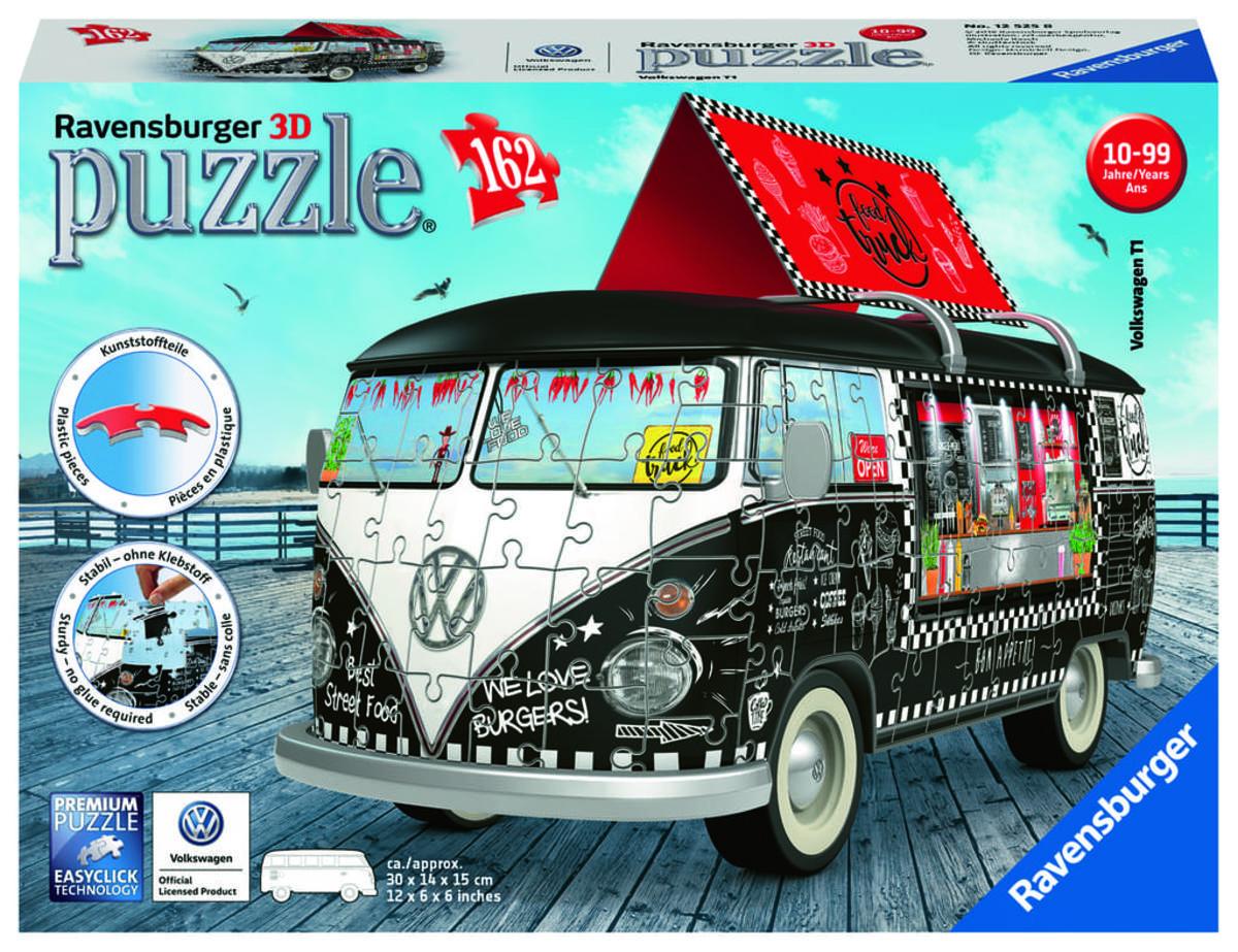 Bild 4 von Ravensburger 12525 VW T1 Food Truck,3D Puzzle