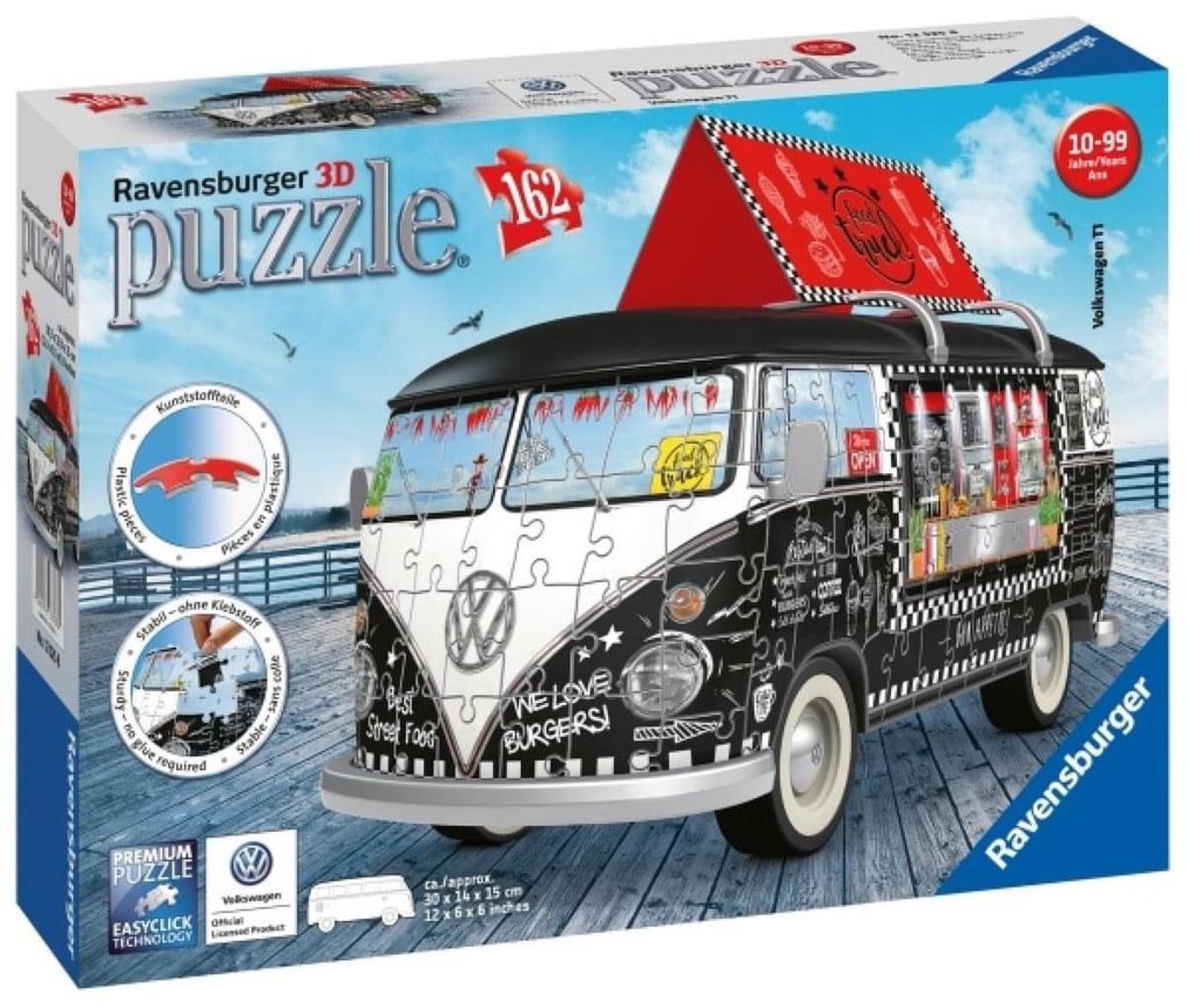 Bild 5 von Ravensburger 12525 VW T1 Food Truck,3D Puzzle