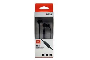JBL T110 In Ear Kopfhörer mit Steuerung und Mikrofon Headset schwarz