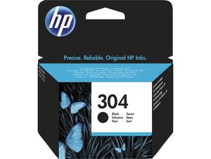 HP 304 Black Original Standard Capacity Ink Cartridge, Schwarz, Standard, HP, DeskJet 3720, DeskJet 3730