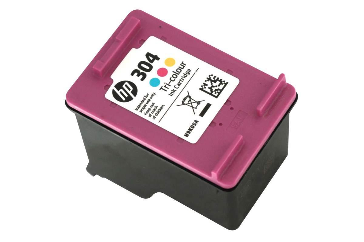 Bild 1 von Original HP Drucker Tintenpatrone 304 dreifarbig Tri- colour