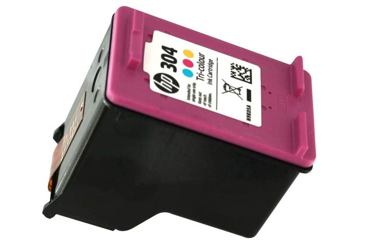 Bild 2 von Original HP Drucker Tintenpatrone 304 dreifarbig Tri- colour